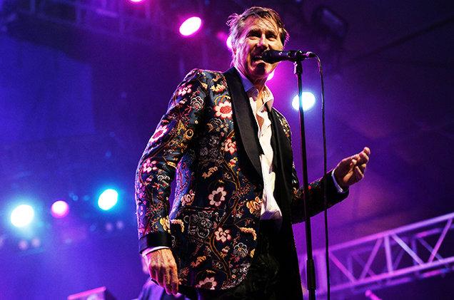 Выступление Bryan Ferry на празднике
