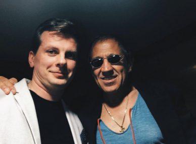 Адольфо Себастьяни в Москве с букинг-агентом BnMusic