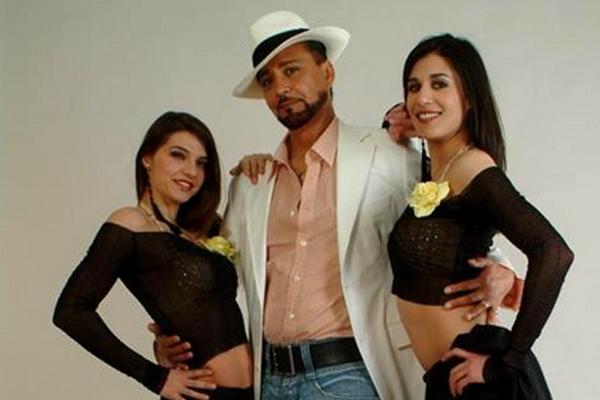 Страница Santa Esmeralda на сайте официального букинг-агента Bnmusic