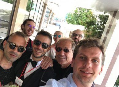 Адольфо Себастьяни на фестивале в Коломне с букинг-агентом BnMusic