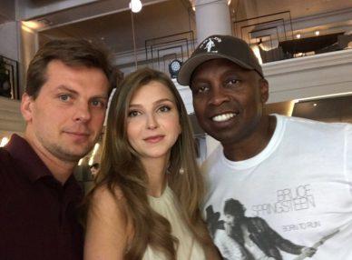 Haddaway с агентами BnMusic на корпоративе в Киеве