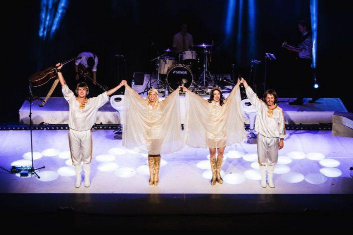 Страница ABBA tribute show на сайте официального букинг-агента Bnmusic