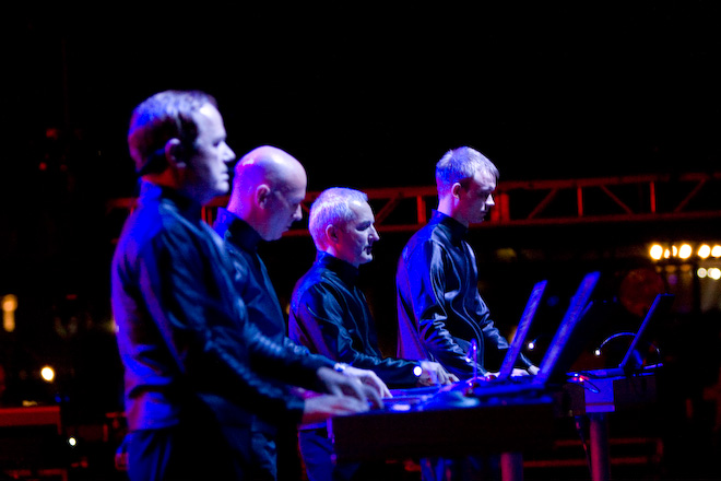 Страница Kraftwerk на сайте официального букинг-агента Bnmusic