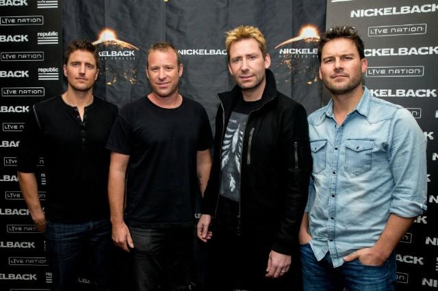Страница Nickelback на сайте официального букинг-агента Bnmusic