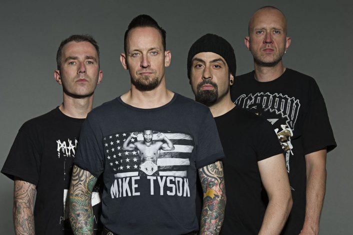 Страница Volbeat на сайте официального букинг-агента Bnmusic