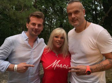 Саманта Фокс с букинг-агентом BnMusic в Словакии
