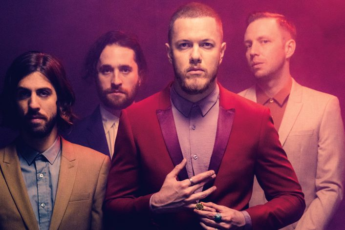 Страница Imagine Dragons на сайте официального букинг-агенства BnMusic