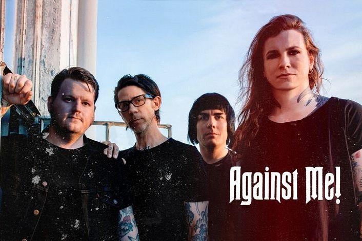 Against Me! - страница на официальном сайте агента