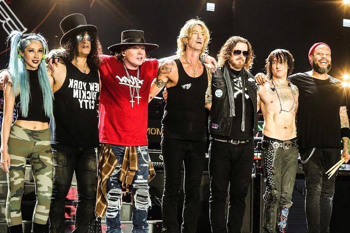 Guns N' Roses - организуем выступление артиста на вашем празднике