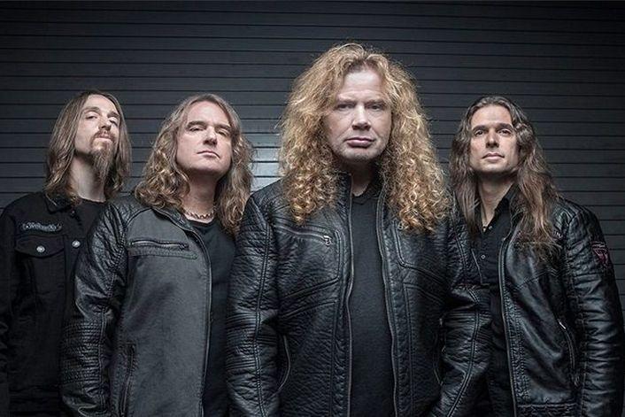 Megadeth - пригласить на праздник в букинг-агентстве BnMusic