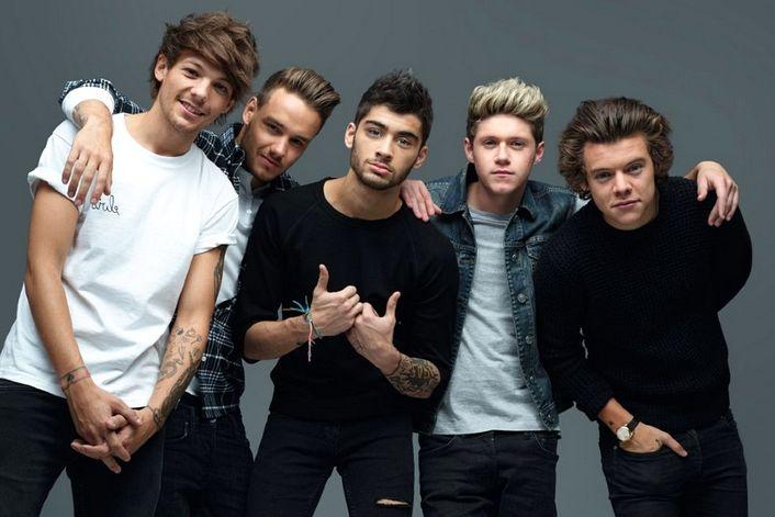 One Direction - страница на официальном сайте агента
