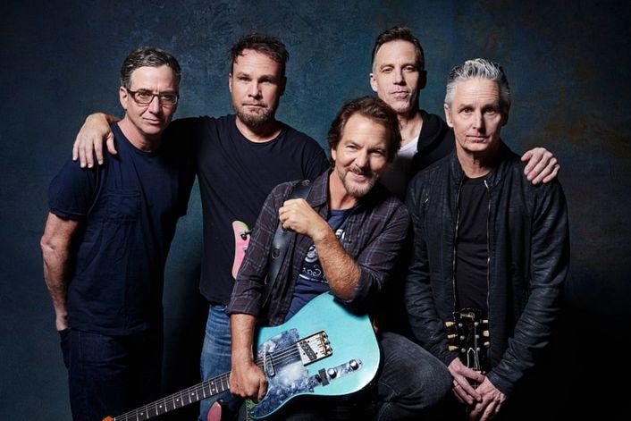 Pearl Jam - страница на официальном сайте агента
